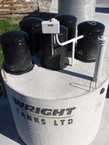 The Wright ProTec 5000 Wastewater Treatment Plant